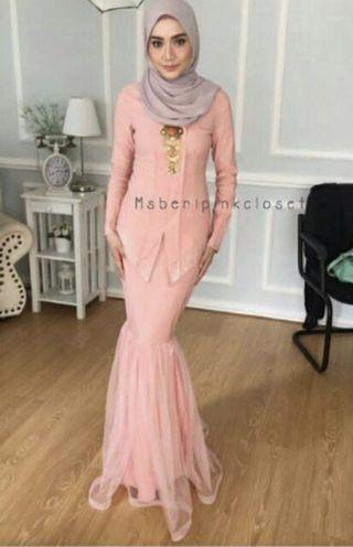 Kebaya moden(pink)