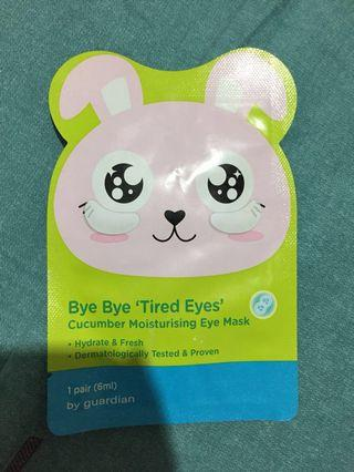 Free Cucumber Mositurising Eye Mask
