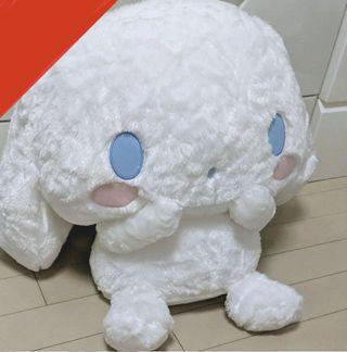 Super big XXL Sanrio Cinamon plush toy!
