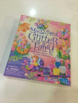 Mould and Paint - Glitter Fairy Fridge Magnet