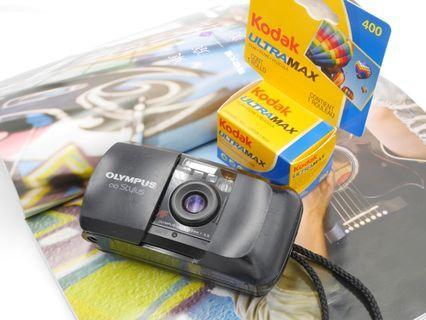Olympus Stylus Epic MJU 1 Film Compact Camera