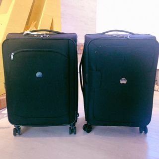 2 Delsey Medium Size Luggage WIth 5 years INTL Warranty
