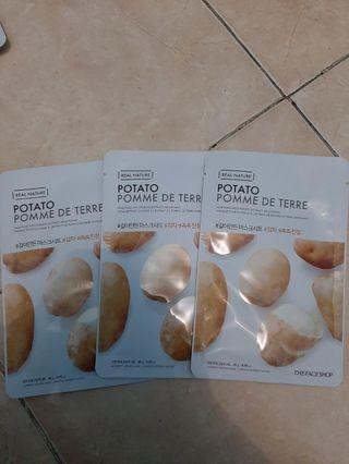The Face Shop Sheet Mask Potato