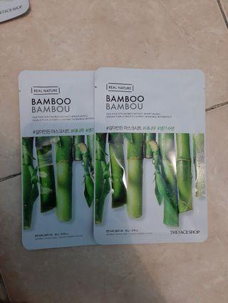 The Face Shop Sheet Mask Bamboo