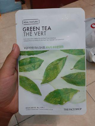 The Face Shop Sheet Mask Green Tea