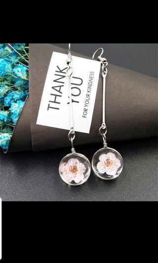 Korean Style Flower Earrings