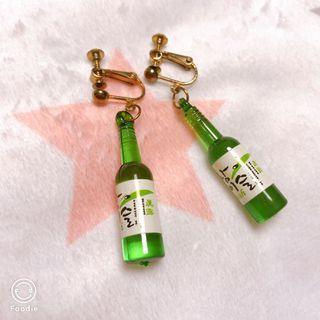 韓國燒酒樽耳夾