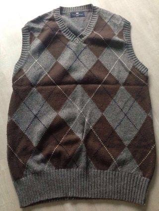 Mark & Spencer's wool chest vest - for men