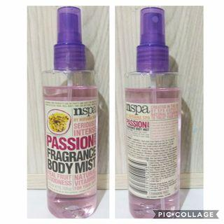 nspa passion fragrance body mist