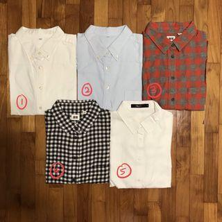 [CLEARANCE] Women's Branded Collared Shirts