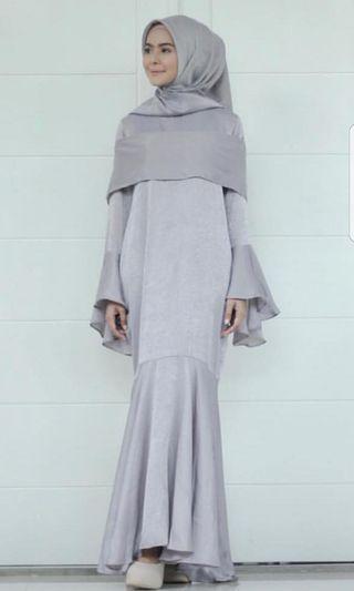 Shanum dress silver