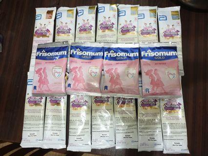 Similac Mum and Frisomum Gold Milk Sachets (18 pcs)