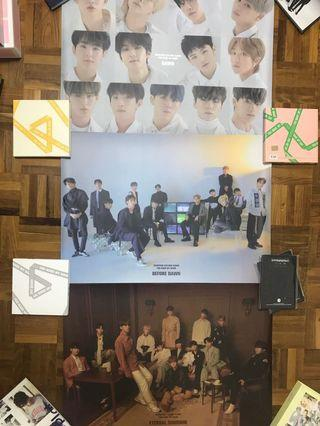 Seventeen You Made My dawn poster
