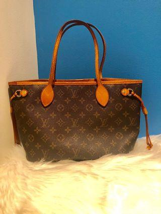 Louis Vuitton Neverfull and wallet bundle