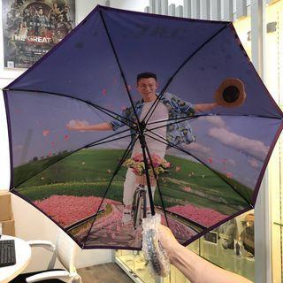 Andy Lau Purple Umbrella 限量版 全新 劉德華雨傘☂️紫色遮☂️長傘☂️長遮☂️