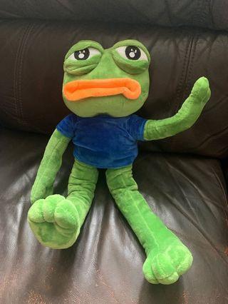 Pepe蛙公仔(預訂)