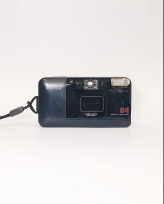 Konica Big Mini A4 Point and Shoot 35mm Film Camera w Flash Compact