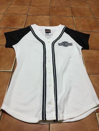 Baseball Shirt Harley Davidson women