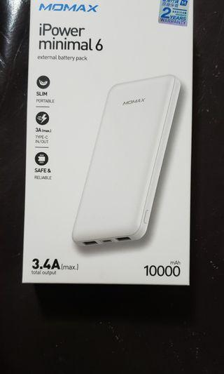 Momax 10000mah 3.4A output 尿袋