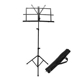 Folding Music Stand with Carrying Case