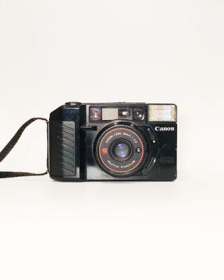 Canon Autoboy 35mmII Sureshot 35mm Vintage Film Camera w Flash