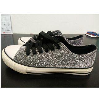 Rubi Silver Sneakers #MGAG101