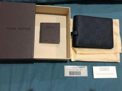 Louis Vuitton Wallet 100% original multiple infini onyx wallet