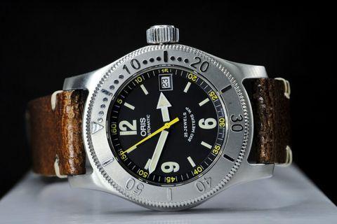 Oris BC3 diver 7502