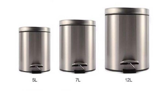 Ready Stock Stainless Steel Dustbin