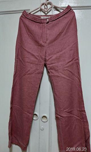 🚚 🌸粉色寬褲