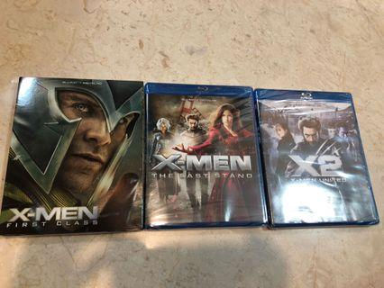 X-Men Bluray