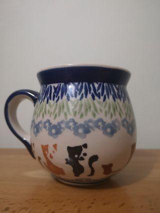 波蘭陶瓷杯