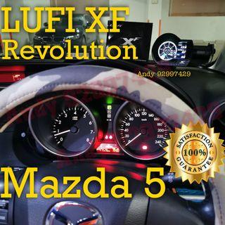 Mazda 5 Lufi XF Revolution OBD OBD2 Gauge Meter display