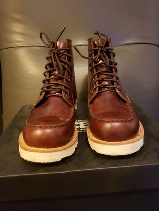 酒紅色短靴 (Boots - Burgundy colour)