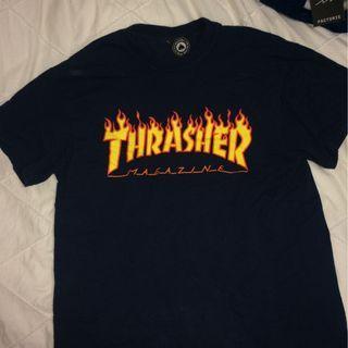 Navy Thrasher shirt