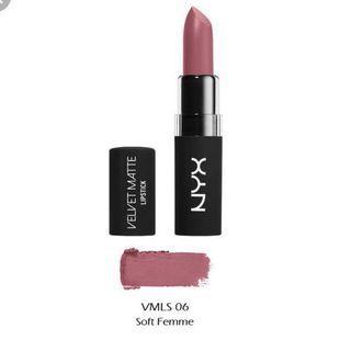 NYX Velvet Matte Lipstick - Soft Femme