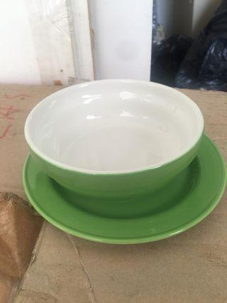 Ceramic colour bowls