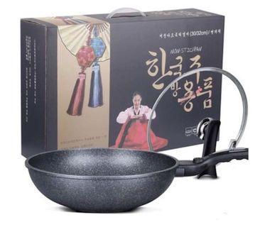 Ready Stock Non Stick Korean Stone Pan