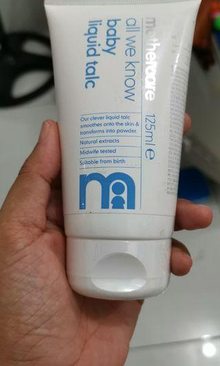 New Liquid talc Mothercare harga nett
