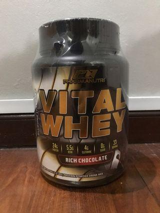 Protein Vital Whey 1kg - Rich Chocolate