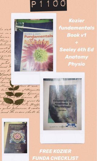 FIRST YEAR BOOKS BUNDLE (FUNDA PLUS ANAPHY) FREE CHECKLIST BOOK