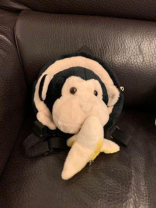 bb防丟失牽引繩背包猴子書包溜娃神器