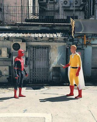 🚚 RENTING Spiderman Far From Home Suit/Costume/Attire