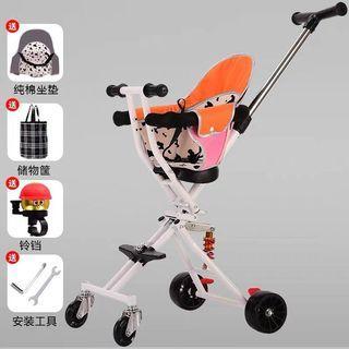 bb出行戶外推車三輪車輕便摺疊車 溜娃神器
