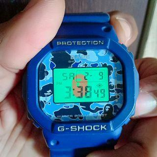 G SHOCK COLLABORATION WITH BAPE