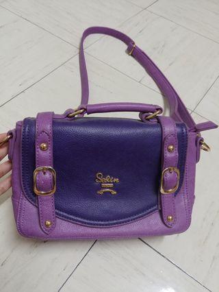 Salin 紫色 側揹/斜揹袋