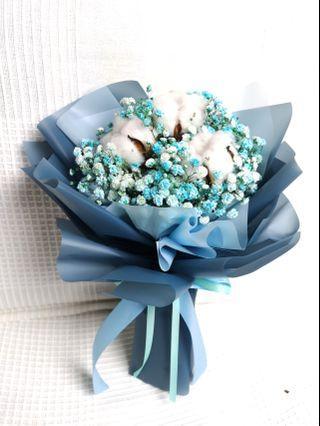 FPF 907 Baby breath bouquet