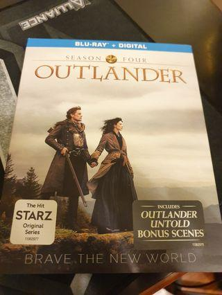 Outlander season 4 blu-ray series