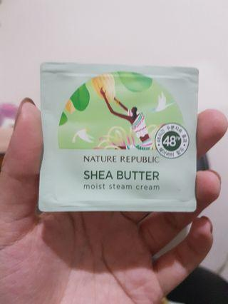 Nature Republic Shea Butter Moist Steam Cream Sample Size