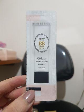 Etude House Precious Mineral BB Cream Sample Size